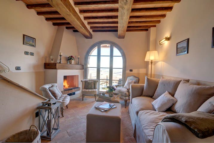 3 bedroom garden house with view - Chianni - Dom