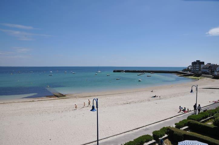 Appartement sur la plage - Saint-Pierre-Quiberon - Apartemen