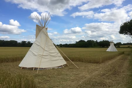 Glamping with views of MalvernHills - Worcester
