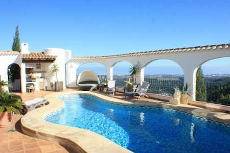 Villa with amazing view on the sea - Monte Pego