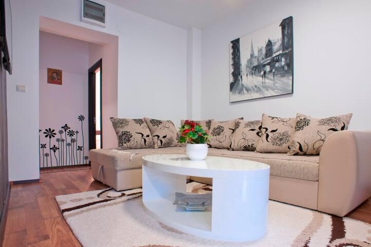 Comfort 2-Bedroom Apartment with great SEA view - Bečići - Lägenhet