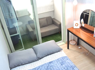 Cozy private room in flat,5mins from Subway,Suwon - Yeongtong-gu, Suwon-si - Διαμέρισμα