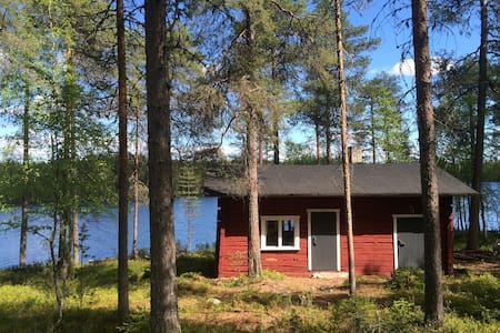 Lakeside cottage with a sauna - Kuusamo