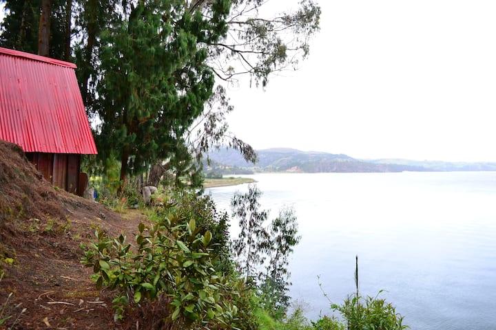 Cabañas Yukatán la Cabañita, Lago de Tota.