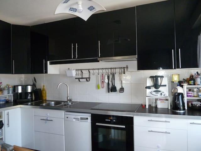Appartement Chaleureux aux Poteries - Strasbourg - Appartement en résidence