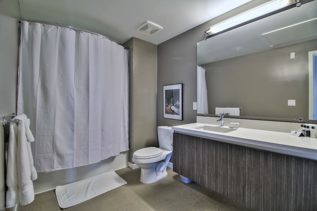 Master Bathroom with Rain Shower + Tub (Essentials Included)