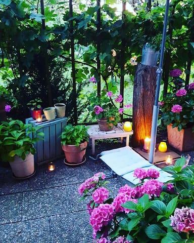 Gemütliche Wohnung mit Garten - Singen (Hohentwiel) - Lägenhet