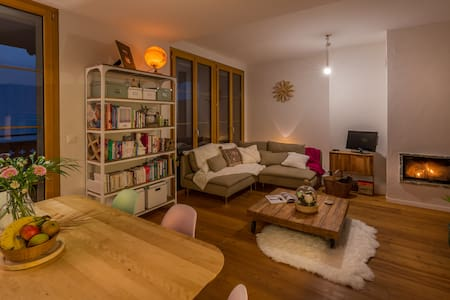 Chambre cosy, à 2min du télécabine! - Leysin - Appartement