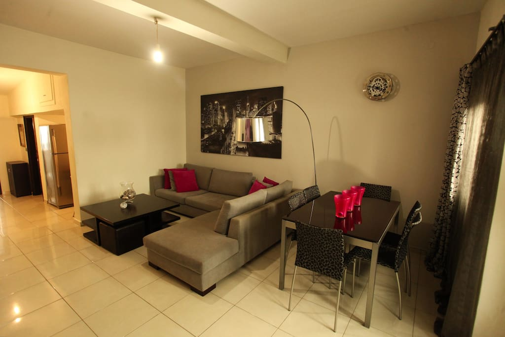 Iliana's Apartment - Living and Dining Area