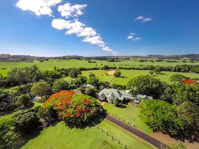 Silky Oaks - farm stay Byron hinterland home - Myocum - Haus