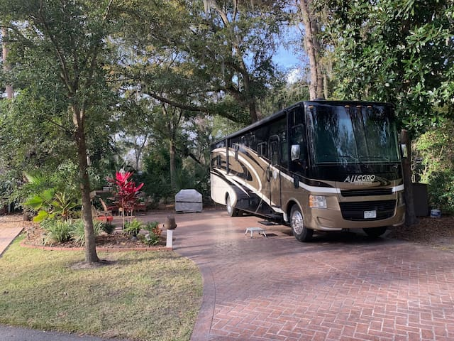 Spectacular RV in Hilton Head Motorcoach Resort