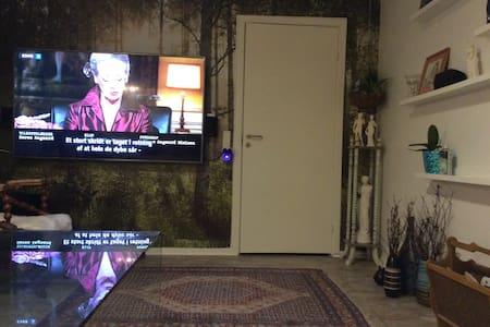 hyglig lille værelse med adgang til hyggelig stue - Brabrand