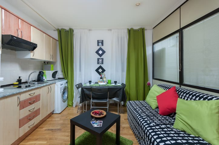 Apartment near the center of madrid