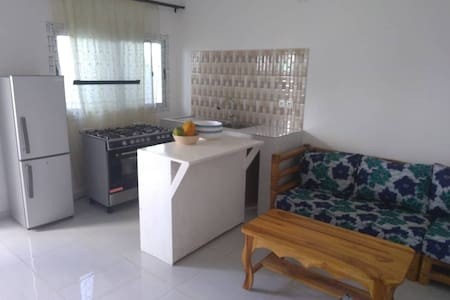 Beautiful furnished apartment + garage + terrace