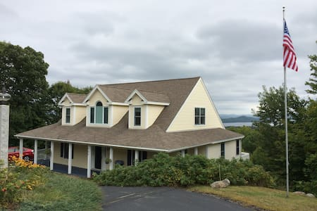 Hillside house overlooking Winnipesaukee, Gunstock - Gilford - Dom