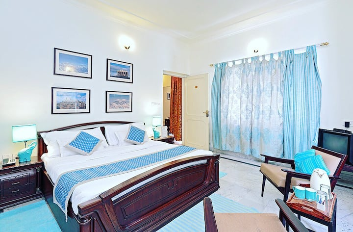 Pratap Bhawan homestay Blue room
