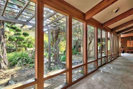 Frank Lloyd Wright Style Oasis #3 - Oxnard