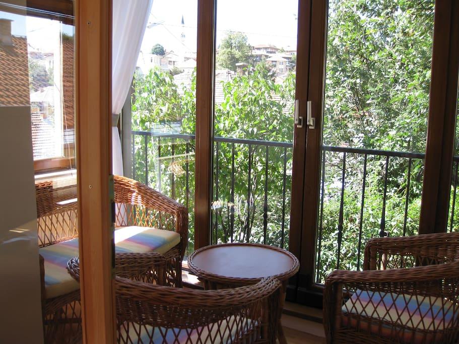 Enclosed Sun Terrace