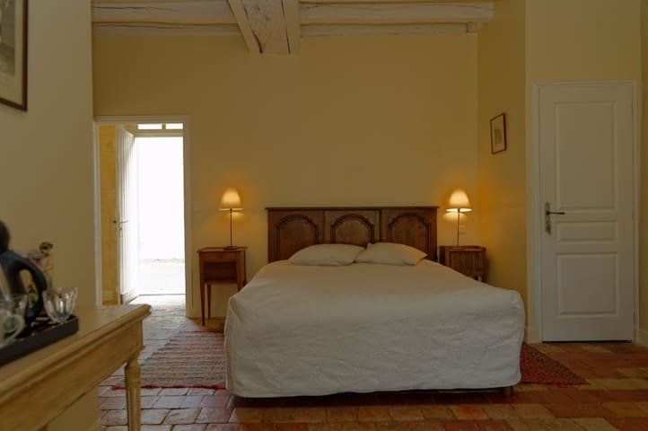 Chambre d'Hôtes de charme en Berry RDC (B&B)