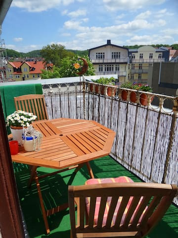 Appartment mit Südbalkon im Zentrum - Marburg - Appartamento
