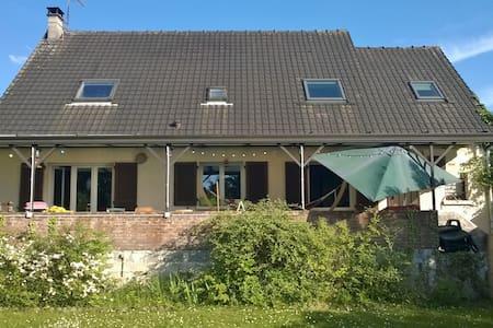 Grande maison familiale avec jardin - Saint-Ouen-l'Aumône - House