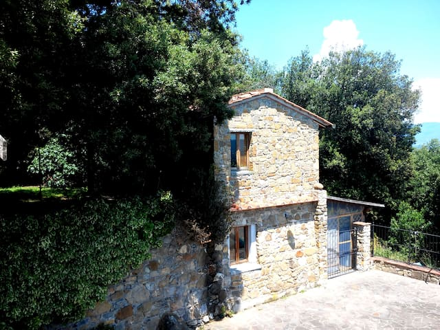 Stone House with private Pool + LIVE ROCK CLUB !!! - Bucine - House