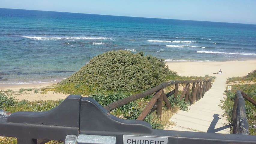 Castelsardo sulla spiaggia!!!! - Lu Bagnu - Appartamento