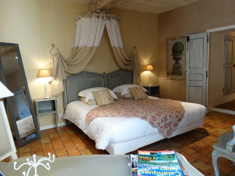 la chambre Lourmarin