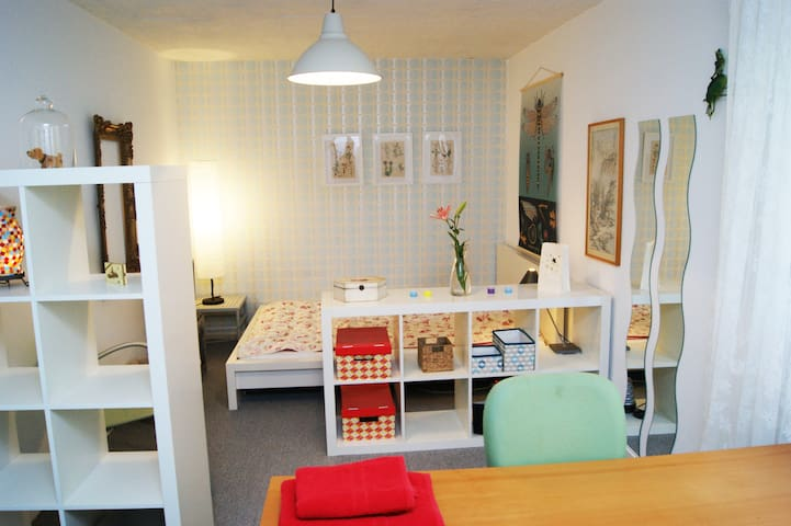 Gemütliches Zimmer plus K. & B. - Werther - Wohnung