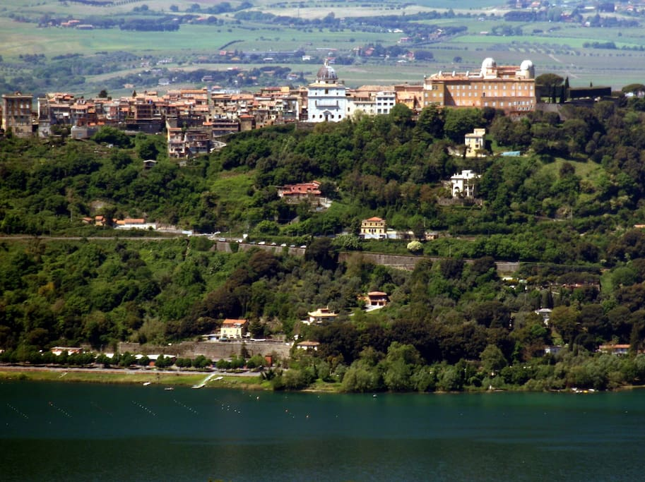 La residenza estiva del Papa Castel Gandolfo