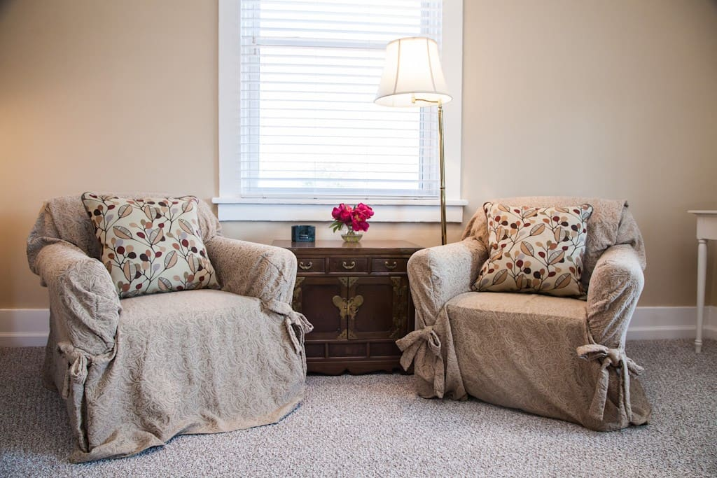 Comfy chairs for reading or relaxing