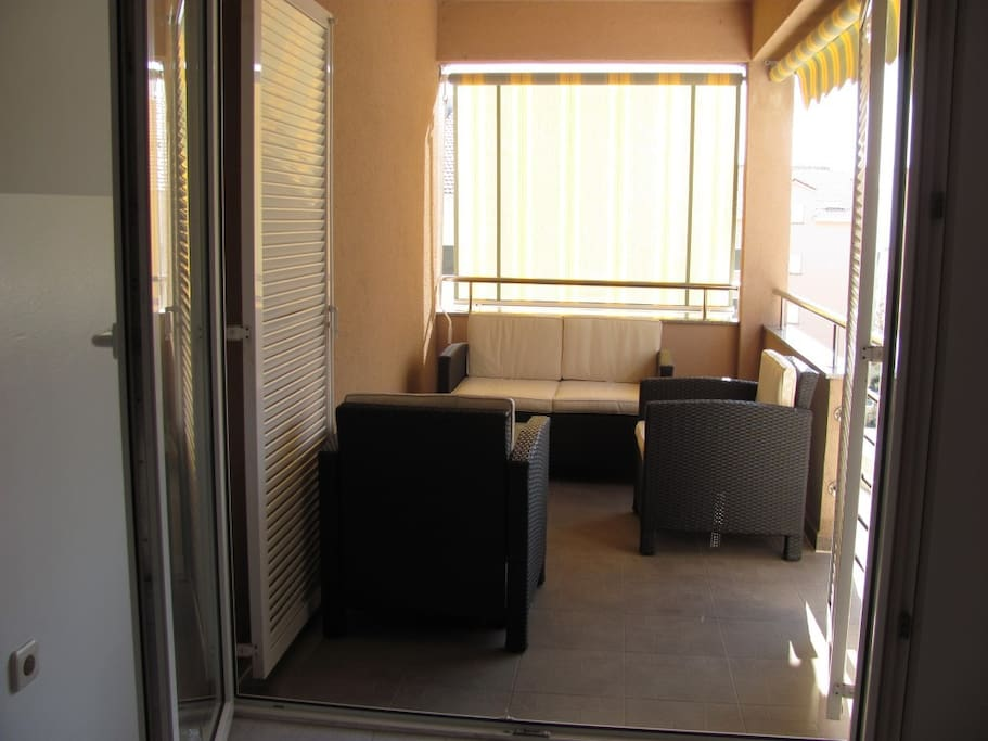 The balcony has a great view, morning and evening hangouts are popularly held on balconies so having a balcony is almost a MUST. This balcony holds a special feature since it's half-closed and thus guarantees more privacy.