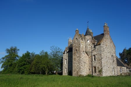 Illieston Castle by Edinburgh Airport - Newbridge