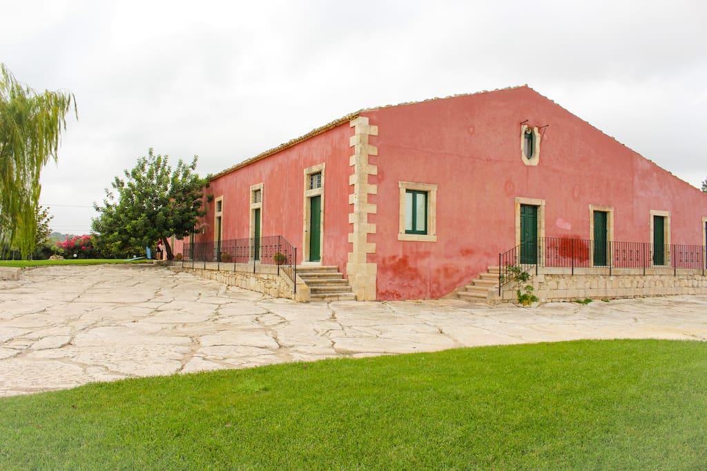 Vista villa.