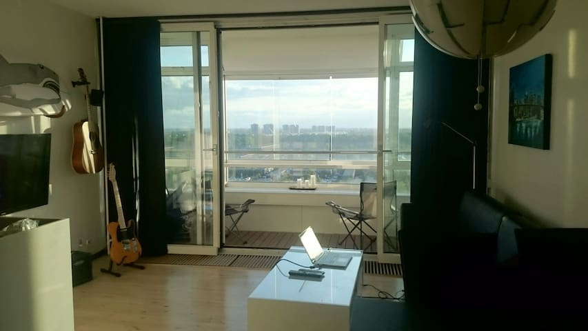 Light apartment with fantastic view - Hvidovre - Apartamento