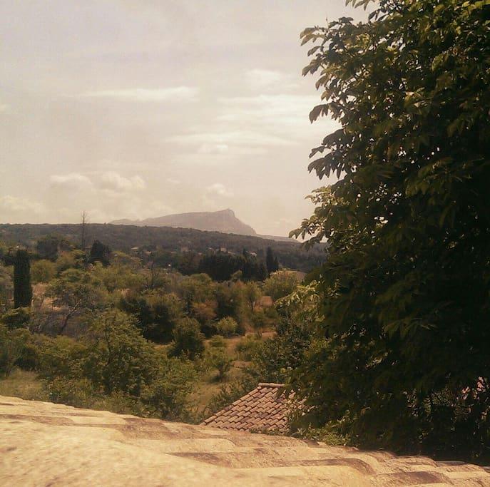 vue sur Sainte Victoire