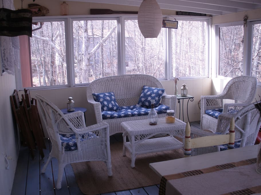 Screened porch