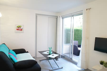 Studio with terrace hall renovated - Cagnes-sur-Mer - Apartment