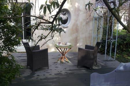 La villa trente avec son parc - Saint-Gervais