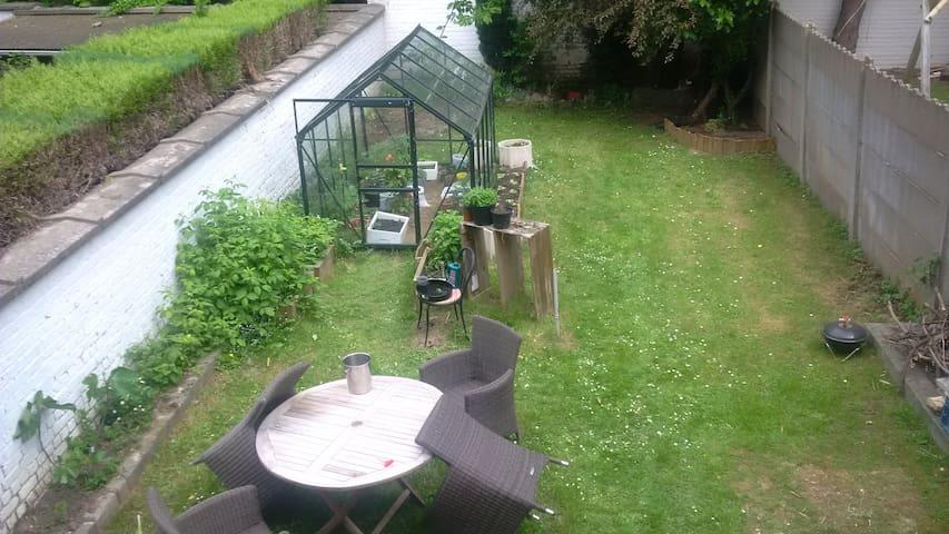 Appartement avec jardin - Ganshoren - Apartamento