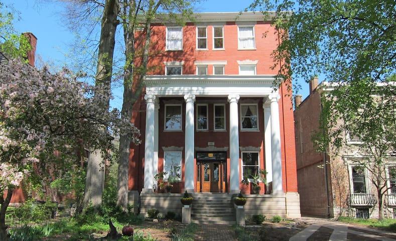 Exterior. Originally built as a classroom building for a women's college in 1903