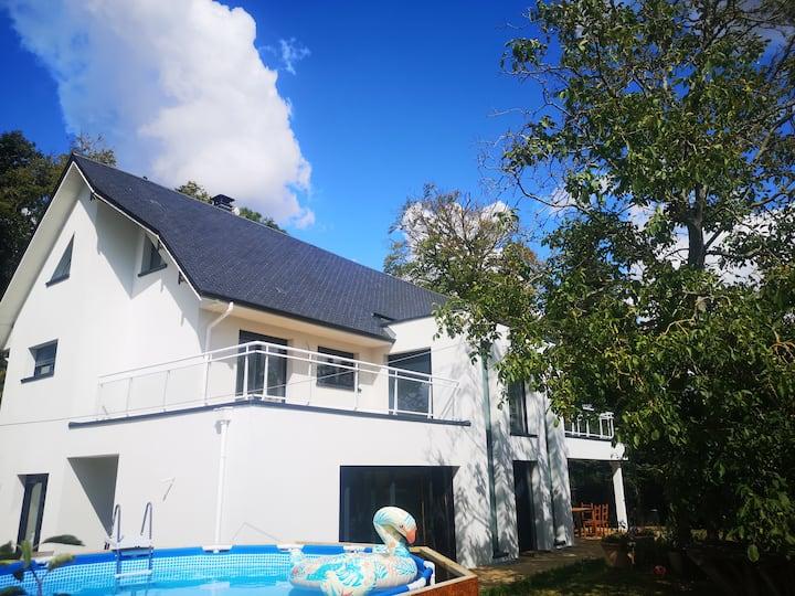 villa d'architecte AXE A13 ROUEN / CAEN