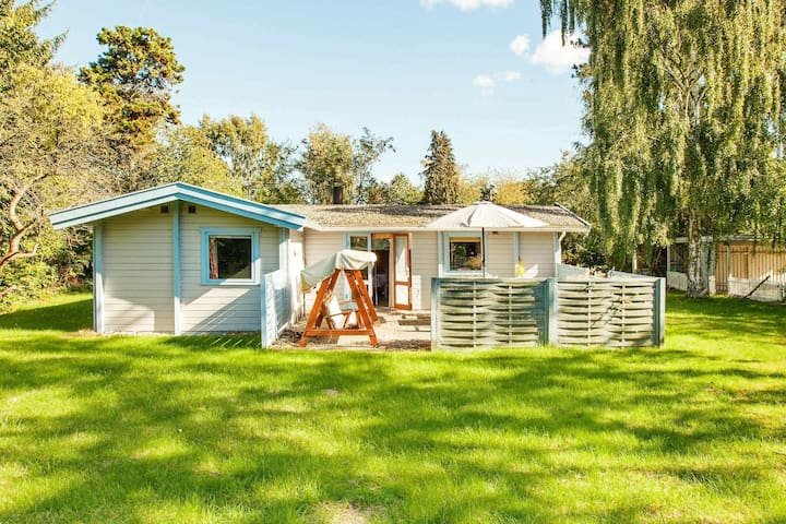 Warm Holiday Home in Hovedstaden Denmark with Lawn
