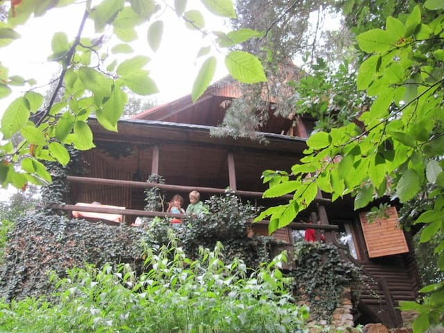 Log Cabin - 45min from Prague - Ostrovec-Lhotka - Hytte