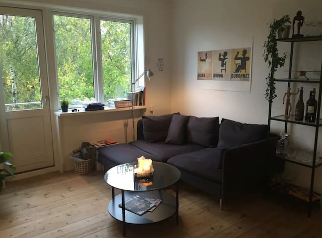 Charming apartment 7 mins away from central CPH