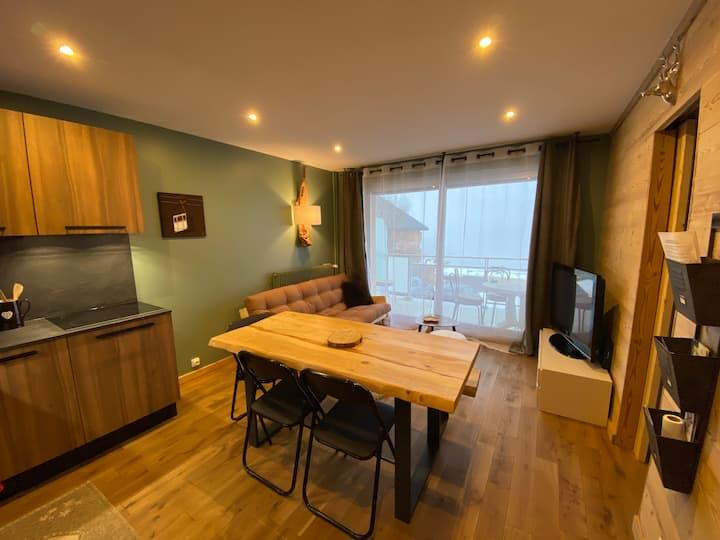 Appartement de 39 m² cosy ski aux pieds