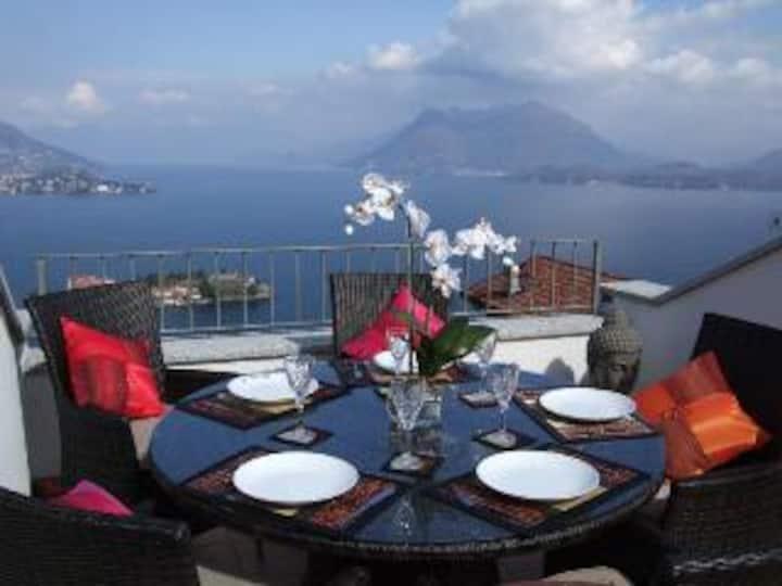 Stunning home overlooking the Borromeo islands