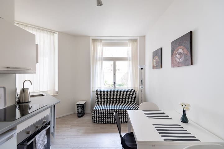 New & quiet studio close to Charles bridge