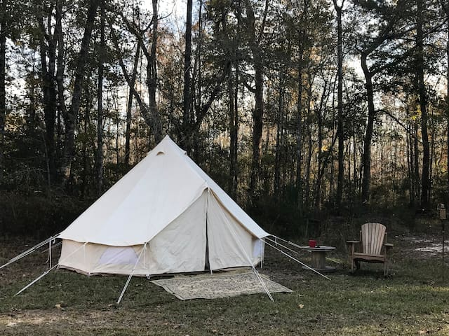 Glamping at Gathering Grounds