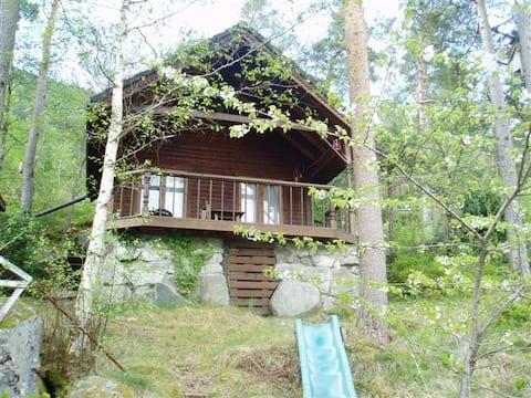 Skogavik, close to Pulpit Rock